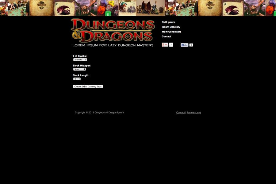dungeons_dragons_ipsum
